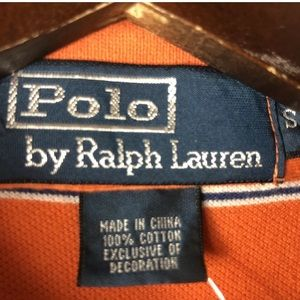 Polo by Ralph Lauren Shirts - Vtg Polo Ralph Lauren Polo Shirt Pony Bright Neon